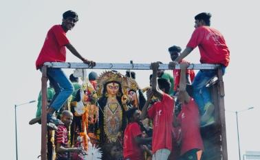 Pujo in Delhi